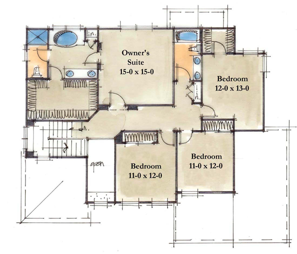 Frederick · Frederick 2nd Floor Plan